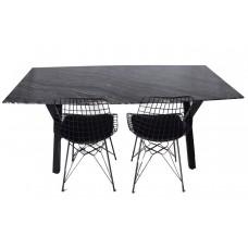 Silver Vave Yemek Masası
